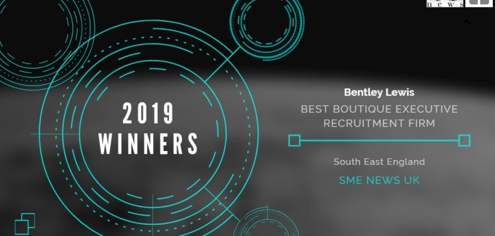 Bentley Lewis wins award for best Boutique Executive Recruitment Firm