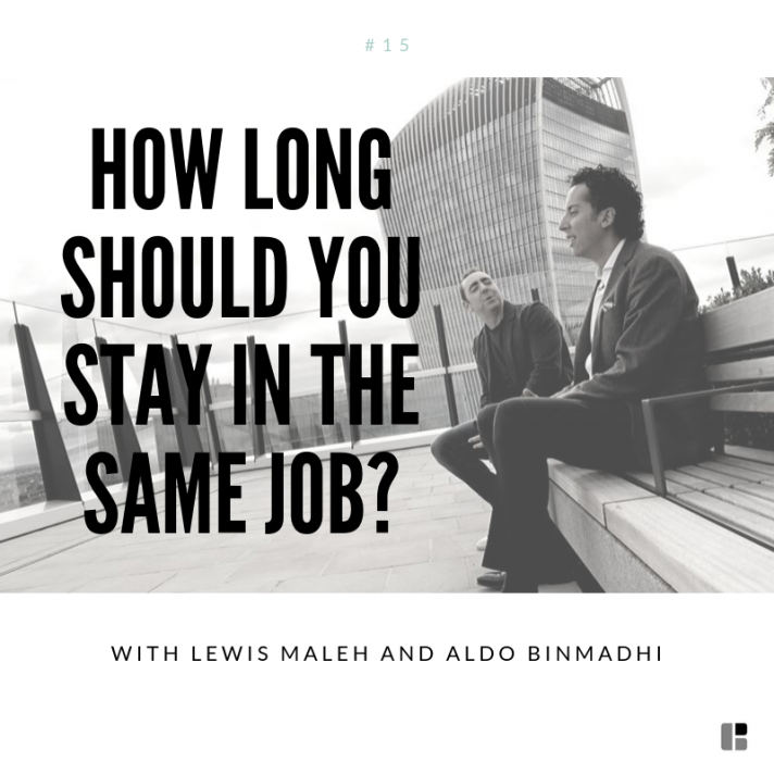 How long should you stay in the same job?