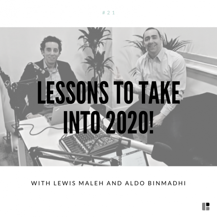 Lessons to take into 2020!