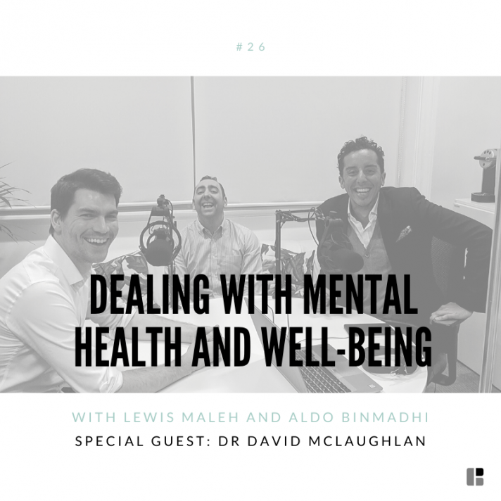 Dealing with mental health and well-being