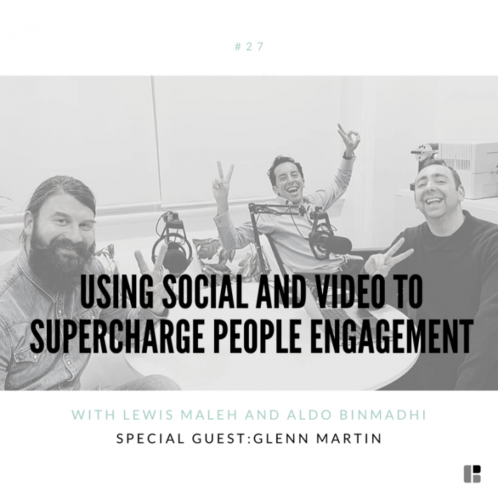 Using social and video to supercharge people engagement