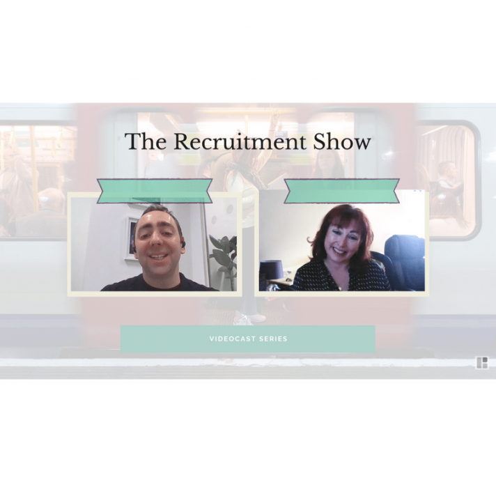 The Recruitment Show VideoCast: EP.7 - Lewis Maleh and Sarah Shiers