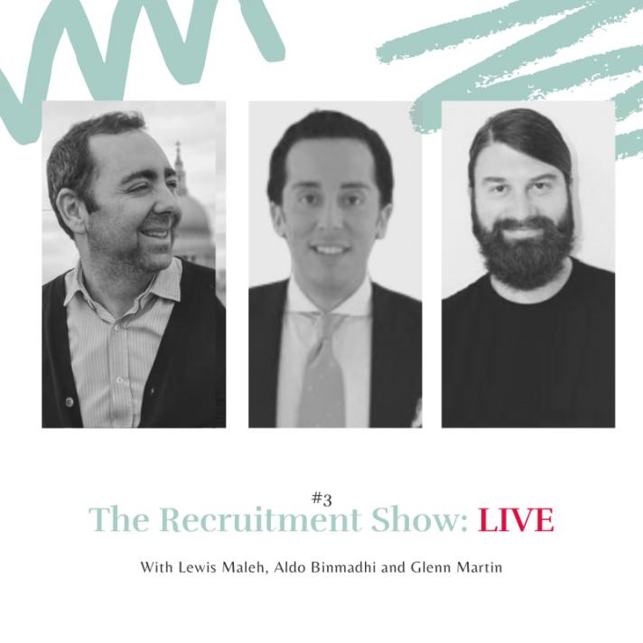 The Recruitment Show: LIVE with Glenn Martin
