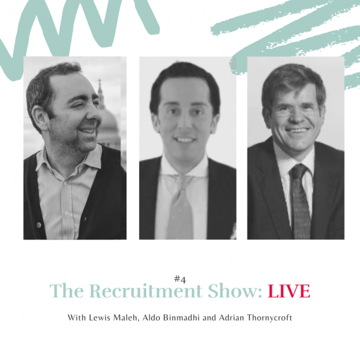 The Recruitment Show Live with Adrian Thornycroft