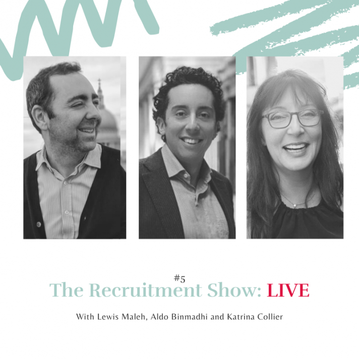 The Recruitment Show Live with Katrina Collier