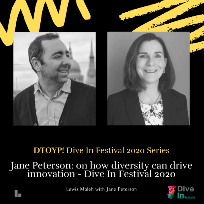 Jane Peterson: on how diversity can drive innovation - Dive In Festival 2020