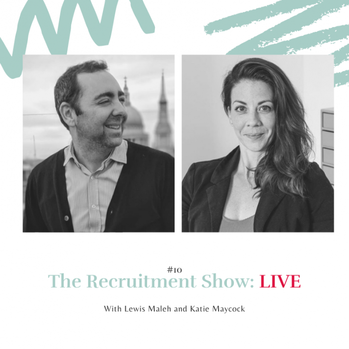 The Recruitment Show Live with Katie Maycock on how to avoid burnout