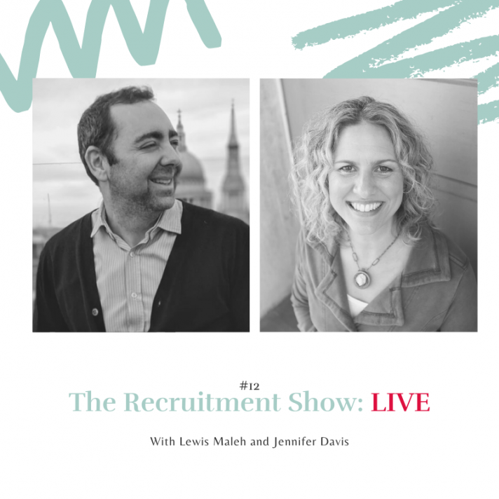 The Recruitment Show Live with Jennifer Davis on why is leading with love so effective?