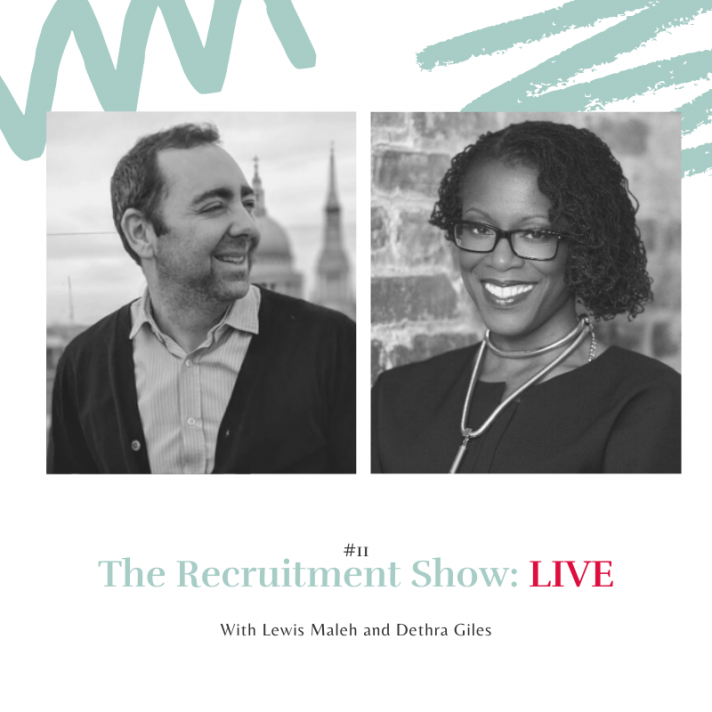 The Recruitment Show Live with Dethra Giles on Employee-preneurs: recruit, retain, develop