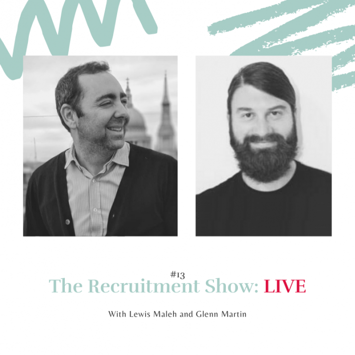 The Recruitment Show with Glenn Martin on what are the most talked about recruitment topics in 2020